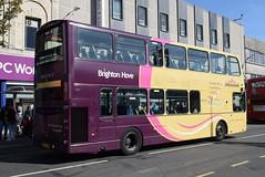 BH 437 @ Churchill Square, Brighton (ianjpoole) Tags: brighton hove volvo b9tl wright eclipse gemini bf12kxm 437 working route 29b churchill square uckfield bus station