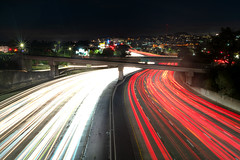 Rushhour (Pedro Freithas) Tags: traffic jam rush hour bay area california san jose francisco fresno ligth cars red yellow highway movement transito luzes sony sonyalpha bridge people city citylight scape sanfran sf sanfracisco loves