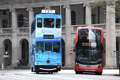 Hong Kong Tramways 137 (Dream Cruises) (Howard_Pulling) Tags: hongkong tram trams strassenbahn mtr mtrlightrail hk howardpulling