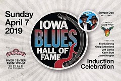 From The Central Iowa Blues Society... Five individuals have been selected for induction into the Iowa Blues Hall of Fame in the Class of 2019: Jeff Banks, Kevin Burt, Janey Hooper, Frank Strong, and Greg Sutherland. The induction ceremony for the Class o (iowamusicshowcase) Tags: ifttt instagram iowa music bands artists midwest the