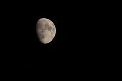 323:365 - Early Moon (LostOne1000) Tags: tamron70200f28 cy365 day323365 tamronlenses moon pentaxk3ii 3652018 365the2018edition pentax photography 365challenge 191118 november astronomy equipment camera astrophotography