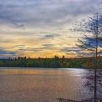 Lake Placid   -  New York  ~ Adirondack National Park ~  Winter Olympics  1980 - Sunset thumbnail