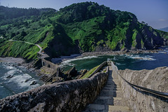 San Juan de Gaztelugatxe Steps - filming location for HBO's Game of Thrones (Joshua Mellin) Tags: sanjuandegaztelugatxe gaztelugatxe san juan de bermeo biscay bay basque basquecountry bilbao spain spanish spanishbasquecountry gameofthrones dragonstone daenerys targaryen actress daenerystargaryen hbo show book books tv real life whereisdragonstoneinreallife reallife filming location locations filminglocaitons westeros history tour tours got finale season season8 stream joshuamellin joshmellin cnn travel cnntravel journalist writer photographer author josh joshua mellin instagram twitter media socialmedia verified iconic best photo photos pic pics picture pictures photograph photographs