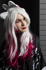 Kitsune (Claude Schildknecht) Tags: vampireyuri ad600pro beautybox broncolor cosplay eurexpo europe france girl godox japantouch japon kitsune lyon manfrotto mask places woman yurikurohime