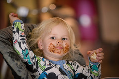 Vegemite kid (Julie Holland photography) Tags: vegemite children charlotte child childhood cute