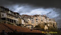 Ciudad Medieval (jkazkarate) Tags: frias burgos españa pueblo casas nubes invierno medieval