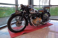 NSU Konsul motorcykel (Steenjep) Tags: motorcykel bike nsu display udstilling konsul sidevogn