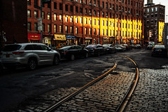 Web Dumbo (mtschappat@verizon.net) Tags: dumbo brooklyn trolley tracks sony a6500 sigma 35mm lens