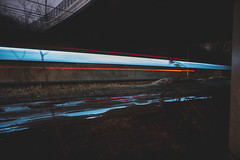 Train Streak (IAmTheSoundman) Tags: jake barshick sony a99 m42 takumar manualfocus cleveland ohio urbanexploring urbex