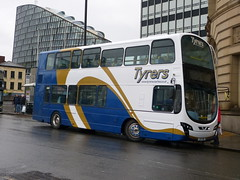 Tyrers LX11CWD 181201 Manchester (maljoe) Tags: tyrersadlington tyrers railreplacement