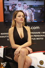 MBE Model (themax2) Tags: 2019 mbe verona expo girl hostess motorbike promotora legs tights cleavage