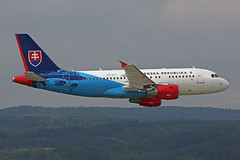 OM-BYA Airbus ACJ319-115X Slovak Government Low Flypast Sliac 01st September 2018 (michael_hibbins) Tags: ombya airbus acj319115x slovak government touch down sliac 01st september 2018 aeroplane aviation aerospace aircraft airplane air aero airshow airfields airport airports aeroexpo plane planes jet jets military transport tactical strategic defence