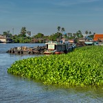 Chao Phraya river around Koh Kret near Bangkok, Thailand thumbnail