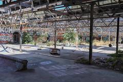 Abandoned Warehouse (Nath Hiccup) Tags: abandoned warehouse victoria australia melbourne rust rubble graffiti skate park