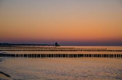 Abendlicht (B_B Fotos) Tags: ostsee dars zingst licht strand deutschland sonnenuntergang