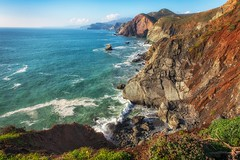 A Sunny Afternoon (KPortin) Tags: marinheadlands ocean pacificocean surf cliffs headlands goldengatenationalrecreationarea tennesseepoint