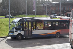 SW 47840 @ Kilmarnock bus station (ianjpoole) Tags: stagecoach western optare solo m925 sr sf13fnh 47840 workin route 3 hareshaw drive onthank sunnyside road shortlees