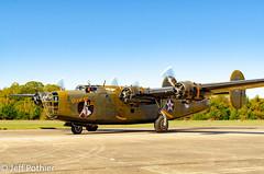 Diamond Lil  B-24A Liberator (vlxjeff) Tags: noseart nikon d7000 aircraft airshow airplane wwii warbirds wingsoverdallas2018 sky texas dallas liberator