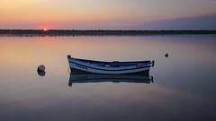Isabelita... (protsalke) Tags: sunset colors bahia colores atardecer peace ocean boat cadiz beautiful sky calm serenity lights sun andalucia nikon landscape seascape sea relax