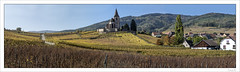 Hunawihr (Francis =Photography=) Tags: europa europe france grandest alsace hautrhin 68 routedesvins vignobles chapelle hunawihr church kirche weinberge vineyards kapelle chapel vines wein wineroad arbre ciel automne ã©glises ã©glisefortifiã©e weinstraãÿe églises églisefortifiée weinstrase