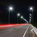El Viaducto del Gran Manglar at night