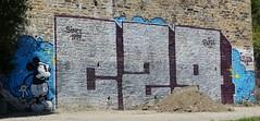 Graff: rue Amiral Troude à Brest (23/06/2018) (EricFromPlab) Tags: mickey graff graffiti tag tags street art urban wall mural streetart bretagne finistère breizh brittany brest