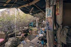 Abandoned out for season. (Khuroshvili Ilya) Tags: housing camping yoga nudists cimmeria nobody items thins artefacts hiking shiva tent autumn idols ganesh unensil urban