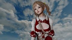 (Lennik232) Tags: linachan lennik poser cute kawaii fantasy elves longears pose 3d 3dart 3dfantasy