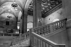 Old Montreal (photauGRaF) Tags: photography2018 church bw basilica cathedral architecture 22mm canon m5 mirrorless