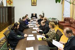 В Минской духовной академии прошло заседание Ученого совета