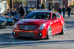 Cadillac CTS-V by Hennessey (Rivitography) Tags: cadillac ctsv red american gm generalmotors car automobile newcanaan connecticut 2018 canon rebel t3 adobe lightroom rivitography