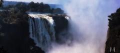 The majestic Victoria Falls,  Zimbabwe (SuzieAndJim) Tags: spray mist naturephotography nature victoriafalls zimbabwe falls waterfalls