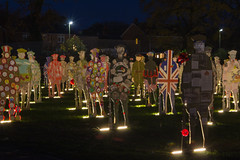 The 215 (christina.marsh25) Tags: the215 worldwar andover hampshire remembrance soldiers art project community