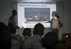 Cutlass Express 2019 training in Djibouti.