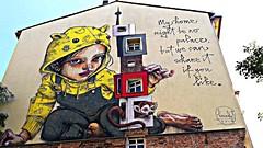 Berlin 2018.06.08. Mural 6.7 - Artists HERAKUT, Germany, 2018 (Rainer Pidun) Tags: mural streetart urbanart publicart berlin
