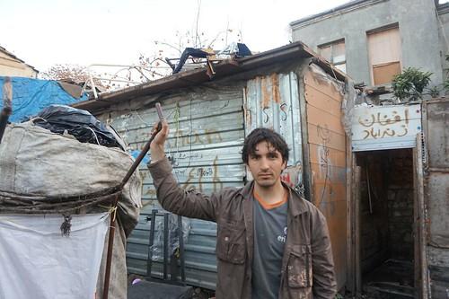 An Afghan refugee, Istanbul, Turkey.