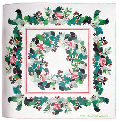 Botanical Wreaths (M.P.N.texan) Tags: book craft needlework quilt quilting applique botanicalwreaths
