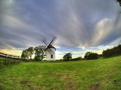 Let the Sky do the Talking (RS400) Tags: cool outside wow hdr landscape travel photography sky clouds 2016 olympus uk southwest grass windmill art old england green blue fence wide angle lens flicker explore space open