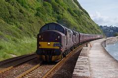 West Coast Railways 37516 & 37676 'Loch Rannoch' (Better Living Through Chemistry37 (Archive3)) Tags: spitirerailtours 37516 37676 wcr teignmouth thekernowexplorer