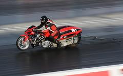 Funny bike_3681 (Fast an' Bulbous) Tags: bike biker moto motorcycle fast speed power acceleration drag strip race track outdoor nikon panning motorsport dragbike racebike santapod gimp d7100