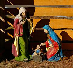 Nativity Scene (Colorado Sands) Tags: figures yard decoration nativity babyjesus joeph mary jesus christianity religious lakewood colorado usa nativityscene christmas christian
