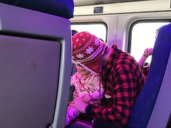 "Dani with Adam on the Polar Express • <a style=""font-size:0.8em;"" href=""http://www.flickr.com/photos/109120354@N07/32568060428/"" target=""_blank"">View on Flickr</a>"