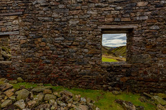 Room with a view (david.travis) Tags: yorkshiredales unitedkingdom derelict window england yorkshire surrendersmeltmill landscapephotography