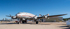 Constellation with TWA paint (BlueVoter - thanks for 2.6M views) Tags: pimaair tucson museum plane propeller oldplanes