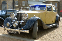 Rolls-Royce 25-30 Hooper Sports Saloon 1936 P1430184mods (Andrew Wright2009) Tags: historic dockyard 1940s weekend kent england uk heriatge history cars automobiles classic vehicle chatham rollsroyce 2530 hooper sports saloon 1936