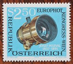 Austrian Postage Stamp (ewan57) Tags: petzval postage stamps austria