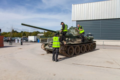 T34-85 15th Sept 2018 (JDurston2009) Tags: tigerday tigerdayx bovington bovingtoncamp dorset t3485 tank tankmuseum thetankmuseum conservationhall reservecollection vehicleconservationhall vcc