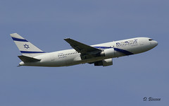 Boeing B767 ~ 4X-EAC  El Al (Aero.passion DBC-1) Tags: spotting cdg 2008 roissy dbc1 david aeropassion avion aircraft aviation plane airport airlines airliner biscove boeing b767 ~ 4xeac el al