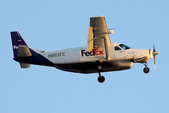 N853FE   Cessna 208B Grand Caravan   FedEx (cv880m) Tags: florida aviation airliner airline aircraft airplane turboprop fll kfll lauderdale ftlauderdale fortlauderdale n853fe cessna c208 c208b grand caravan fedex feeder federalexpress prop cargo aircargo freight freighter
