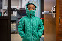 Winter is Coming (Phil Roeder) Tags: desmoines iowa desmoinespublicschools samuelsonelementaryschool school education students winter coats canon6d canon50mmf18